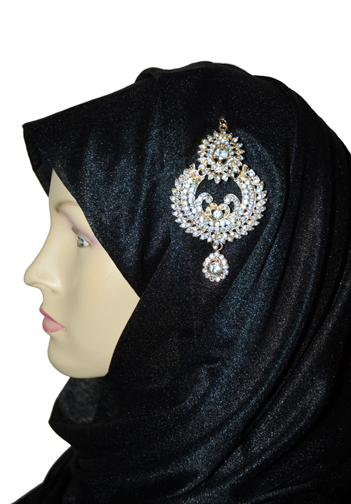 Golden Dangle Hijab Pin
